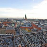 Kopenhagen: Blick vom Rundetårn (Runder Turm)