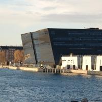 """Kopenhagen: Den Sorte Diamant (""""Der schwarze Diamant""""), Dänische Königliche Bibliothek auf der Insel Slotsholmen"""