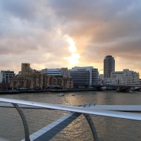 London: View from  Millenium Bridge