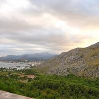 Mallorca: Blick vom Cap de Formentor nach Port de Pollença
