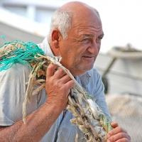 Mallorca: Fischer in Cala Figuera
