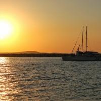 Naxos: Hafen
