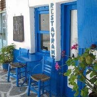 Naxos: Restaurant in der Altstadt