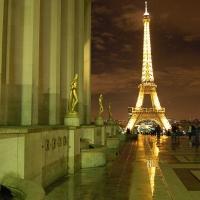 Paris: Tour Eiffel von Trocadéro