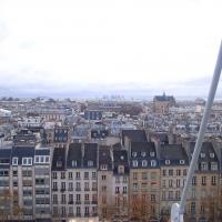 Paris: Blick vom Centre George Pompidou