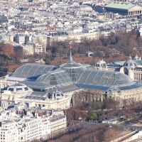 Paris: Le Grand Palais, Blick vom Tour Eiffel