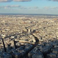 Paris: Blick vom Tour Eiffel