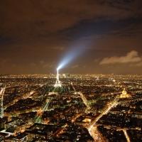 Paris: Tour Eiffel, Blick vom Tour Montparnasse