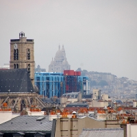 Paris: Blick vom Institut du Monde Arabe