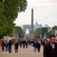 Paris: Champs Élysées, Obelisque, Arc de Triomphe