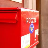Polen: Briefkasten am Alten Marktplatz von Warschau