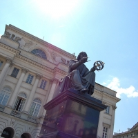 Polen: Kopernikus-Denkmal in Warschau