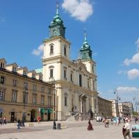 Polen: Kirche des Heiligen Kreuzes in Warschau