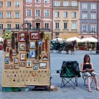 Polen: Alter Marktplatz von Warschau