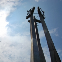 Polen: Solidarność-Denkmal bei Gdansk / Danzig