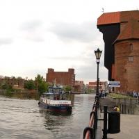 Polen: Krantor von Gdansk / Danzig