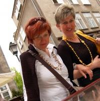 Polen: In der Ulica Mariacka (Mariengasse) in Gdansk / Danzig
