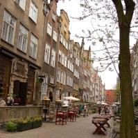 Polen: Ulica Mariacka (Mariengasse) in Gdansk / Danzig