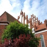 Polen: Kirche Kościół pw św Mikołaja Gniew