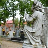 Polen: Am Friedhof von Gniew