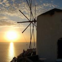 Santorini: Sonnenuntergang in Oia