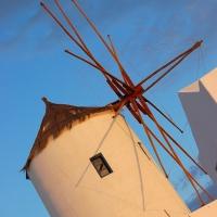 Santorini: Mühle in Oia