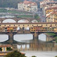 Toskana: Florenz, Ponte Vecchio