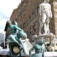 Toskana: Neptunbrunnen in Florenz