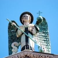 Toskana: Lucca, Engel von San Michele