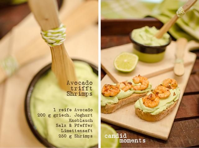 Avocado-Aufstrich mit Shrimps-Rezept