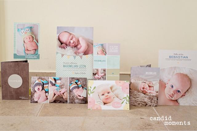 Geburtsanzeigen candid moments fotografie Silvia Hintermayer