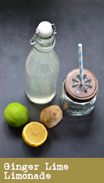 Ginger Lime Limonade