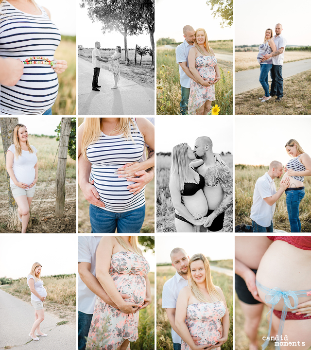 Babybauch-Outdoor-Shooting
