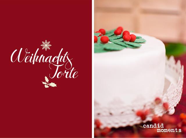 Post aus meiner Küche: Weihnachtstorte