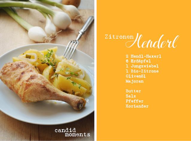 Zitronen-Henderl-Rezept