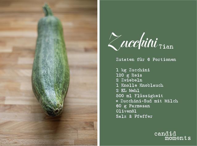 Zucchini-Tian-Rezept