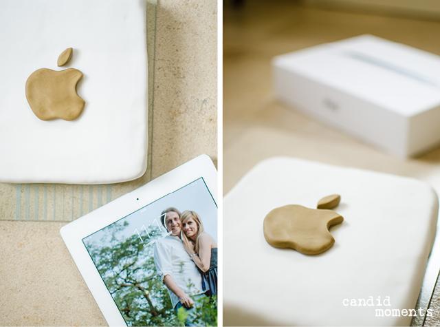 iPad-Torte